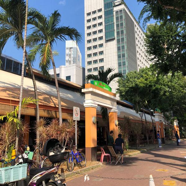 maxwell food center Hawker Center Singapur