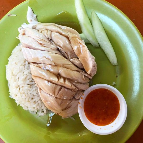 haianese chicken rice tian tian singapur